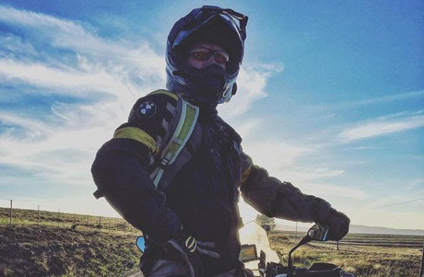 4 Dec: Jo Rust: Solo Female First - Around Africa on a Motorcycle